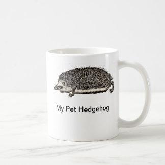 Mi erizo del mascota tazas