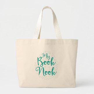 mi escondrijo del libro bolsa de tela grande