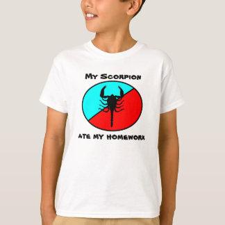 Mi escorpión comió mi preparación camisas