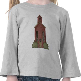 Mi escuela camisetas
