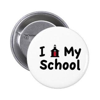 Mi escuela pin redondo 5 cm