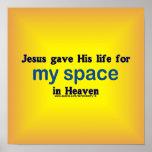 Mi espacio en cielo poster