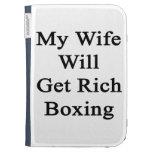 Mi esposa conseguirá el boxeo rico