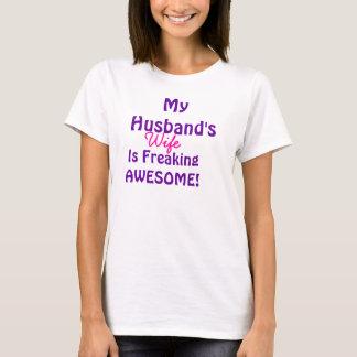 Mi esposa de los maridos es el Freaking Playera
