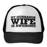 Mi esposa de los maridos es impresionante gorra