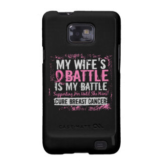 Mi esposa del cáncer de pecho demasiado 2 de la ba galaxy SII carcasas