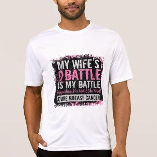 Mi esposa del cáncer de pecho demasiado 2 de la playera