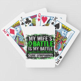 Mi esposa del linfoma demasiado 2 de la batalla barajas de cartas
