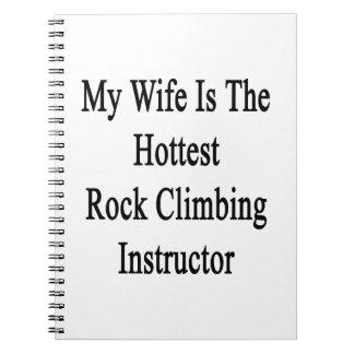 Mi esposa es el instructor más caliente de la note book