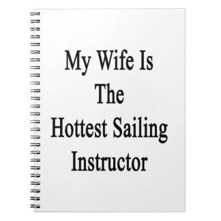 Mi esposa es el instructor más caliente de la spiral notebooks