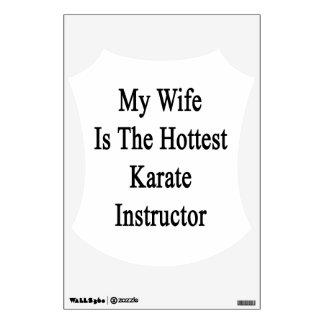 Mi esposa es el instructor más caliente del karate