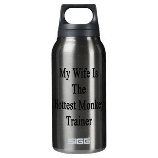 Mi esposa es el instructor más caliente del mono