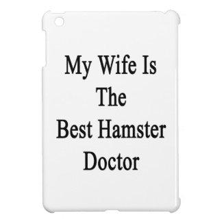 Mi esposa es el mejor doctor del hámster