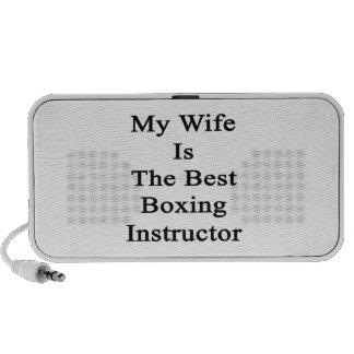 Mi esposa es el mejor instructor del boxeo altavoces de viajar