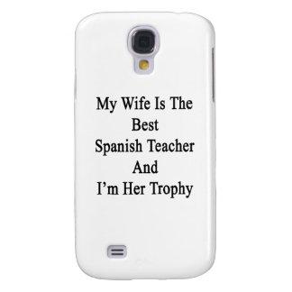 Mi esposa es el mejor profesor español y soy su Tr Funda Para Galaxy S4
