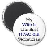 Mi esposa es el mejor técnico de la HVAC y de R Iman De Nevera