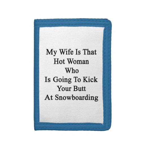 Mi esposa es esa mujer caliente que va a golpearle