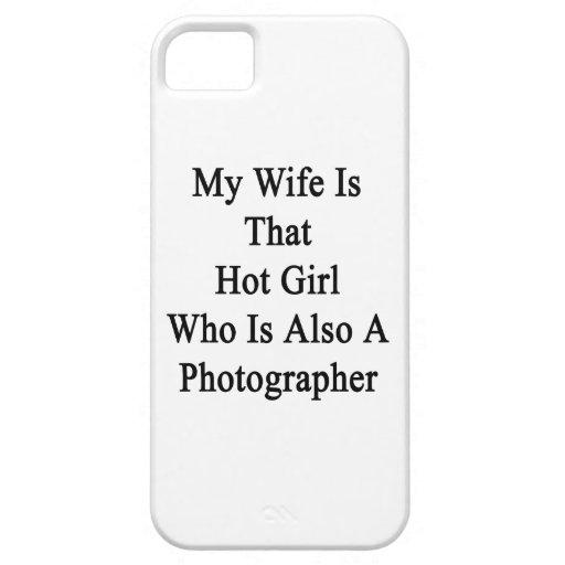 Mi esposa es ese chica caliente que es también un iPhone 5 fundas