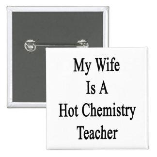 Mi esposa es profesor caliente de la química pins