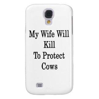 Mi esposa matará para proteger vacas