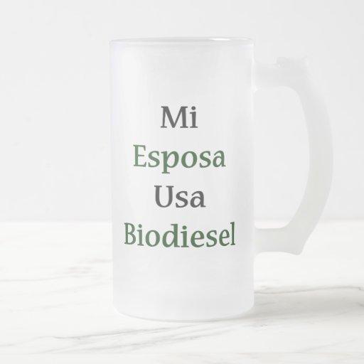 Mi Esposa Usa Biodiesel Mug