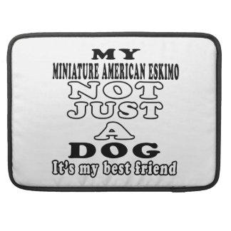 Mi esquimal americano miniatura no apenas un perro fundas para macbooks