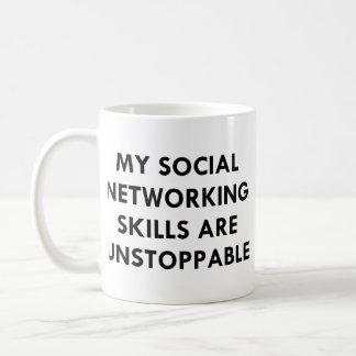 Mi establecimiento de una red social taza de café
