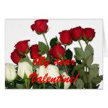 ¡Mi estimada tarjeta del día de San Valentín!