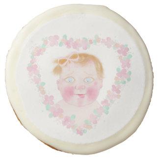 Mi estimado bebé, niña por la galleta de BabyLaia