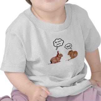 Mi extremo daña la camiseta de los niños de los