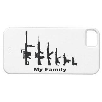 Mi familia armas del amor de I iPhone 5 Case-Mate Cárcasa