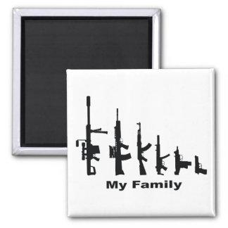 Mi familia (armas del amor de I) Imán Cuadrado