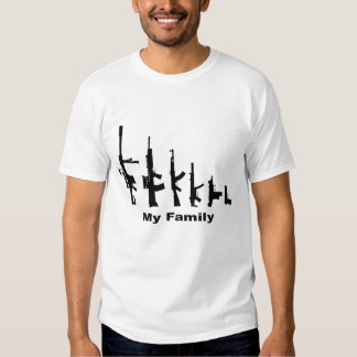 Mi familia (armas del amor de I) Remeras