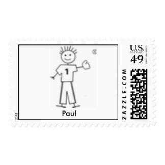 Mi familia - béisbol - modificada para requisitos timbre postal