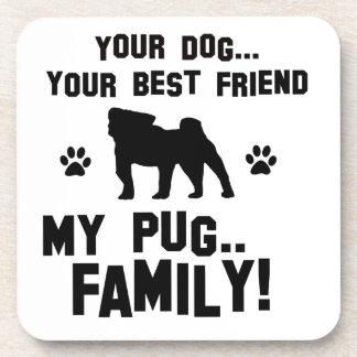 Mi familia del barro amasado, su perro apenas un posavaso