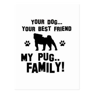 Mi familia del barro amasado, su perro apenas un postal