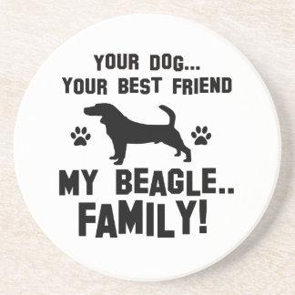 Mi familia del beagle, su perro apenas un mejor posavasos manualidades
