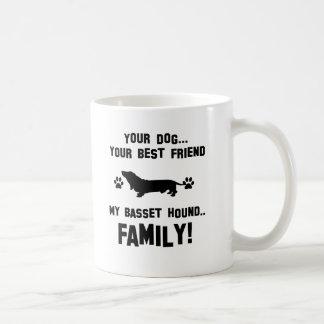 Mi familia del perro de afloramiento, su perro taza de café