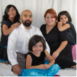 Mi familia escultura fotografica
