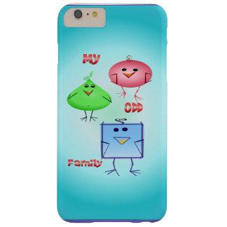 Mi familia impar funda para iPhone 6 plus barely there