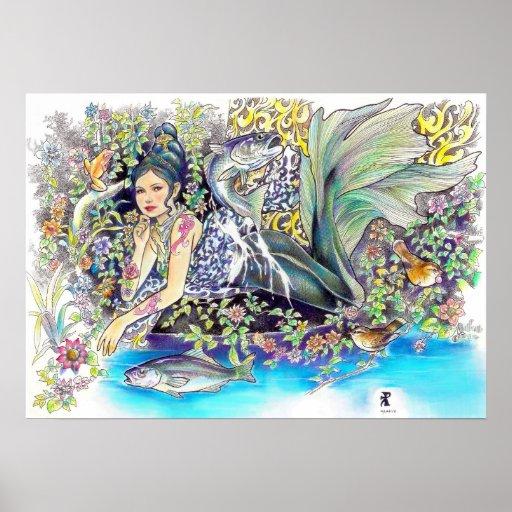 mi fantasía tropical poster
