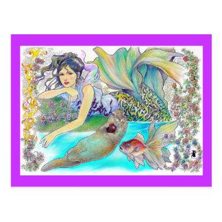 mi fantasía tropical tarjeta postal