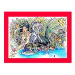 mi fantasía tropical tarjetas postales