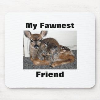 Mi Fawnest, amigo Tapetes De Ratón