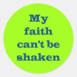 Mi fe no puede ser pegatinas sacudidos