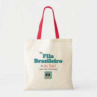 ¡Mi Fila Brasileiro es todo el eso! Bolsa Tela Barata