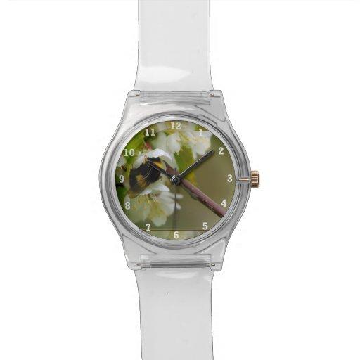 Mi flor reloj de mano