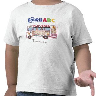 """Mi Foodie ABC: """"T"""" está para el camión del Taco Camiseta"""