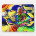 Mi fractal de Picaso por J.Everhart Tapete De Ratones