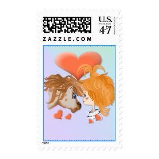 Mi franqueo del amor de PonyZ Sello Postal